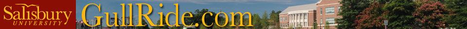 Salisbury University GullRide Banner