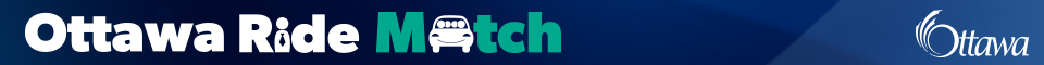 OttawaRideMatch.com Banner