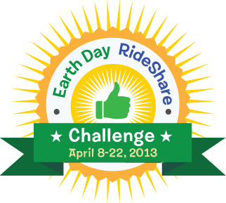 Earth Day Ride Share Challenge