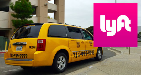 Taxi or Lyft for Emergency Ride Home at Irvine Train Station