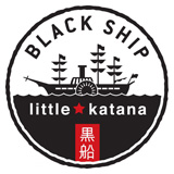 Black Ship Little Katana Logo