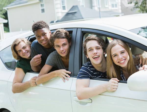 Rideshare with friends
