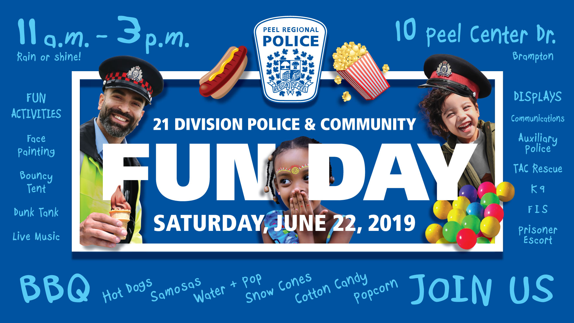 21st Division Fun Day Poster