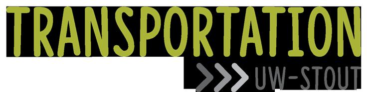 UW-Stout Transportation Logo