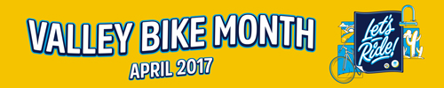 Learn about Valley Bike Month