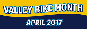 Take the Valley Bike Month Pledge