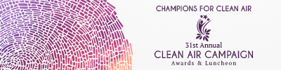 Learn about the 2018 Clean Air Campaign Awards