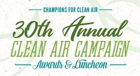 The 30th Annual Clean Air Awards and Lucheon